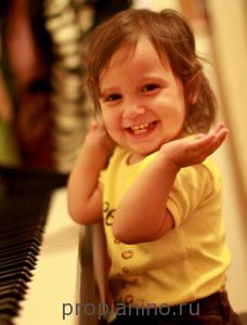 Детям про пианино