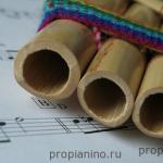 История пианино: флейта Пана