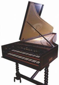 Клавесин - клавишный музыкальный инструмент