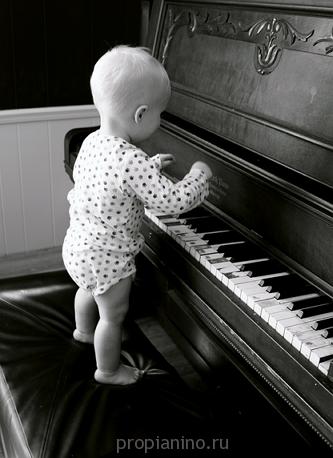 Как правильно играть на пианино