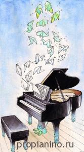 """Стихотворение """"В музыкальном магазине"""""""