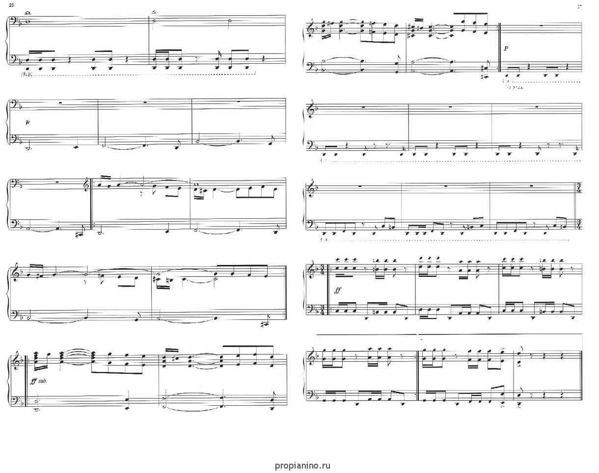 видеоуроки ноты для пианино