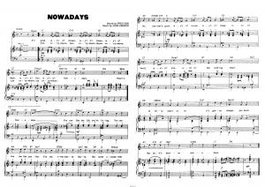 """Песня """"Nowadays"""" из мюзикла """"Chicago"""""""