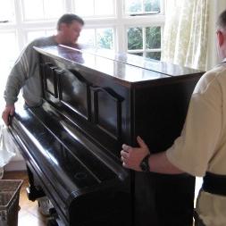 Как перевезти пианино