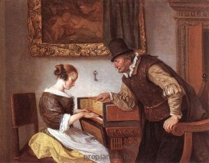 Картина клавесин