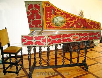 Клавесин в оформлении Руккерсов