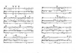 """Песня """"Start of somethign new"""" из фильма """"High school musical"""": ноты"""