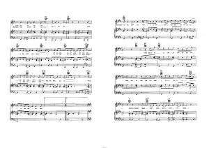 "Песня ""Stick to the status quo"" из фильма ""High school musical"": ноты"