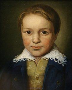 Людвиг Бетховен в 13 лет