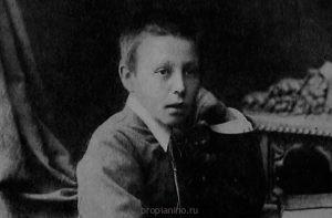 Сергей Рахманинов в детстве