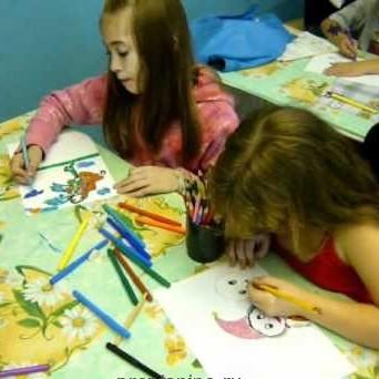 Ноты песни «Дети любят рисовать»