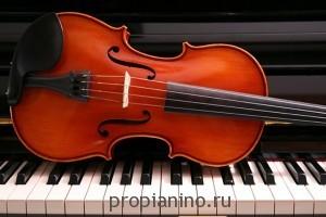 """Стихотворение """"Рояль и скрипка"""""""