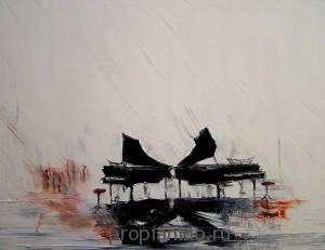 """Стихотворение """"Пианино под дождем"""""""