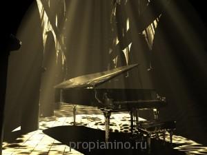"""Стихотворение """"Открыт рояль"""""""