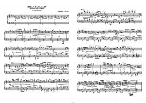 """Bella's Lullaby"" из Twilight (Original Soundtrack) Carter Burwell: ноты"