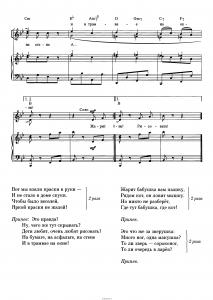 """Песня """"Дети любят рисовать"""" В. Шаинский: ноты"""
