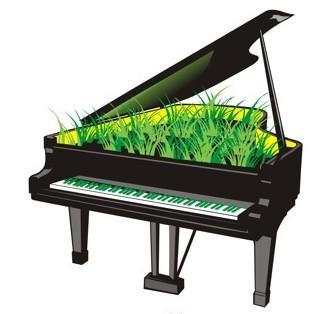Зеленый рояль