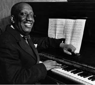 Американский пианист и композитор James P. Johnson