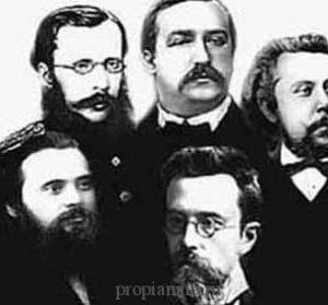 Великая пятерка русских композиторов