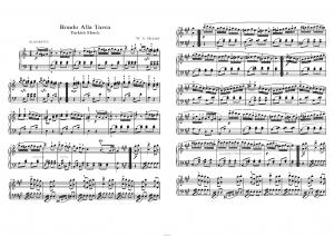 тоже ноты для фортепиано рондо в турецком стиле школы