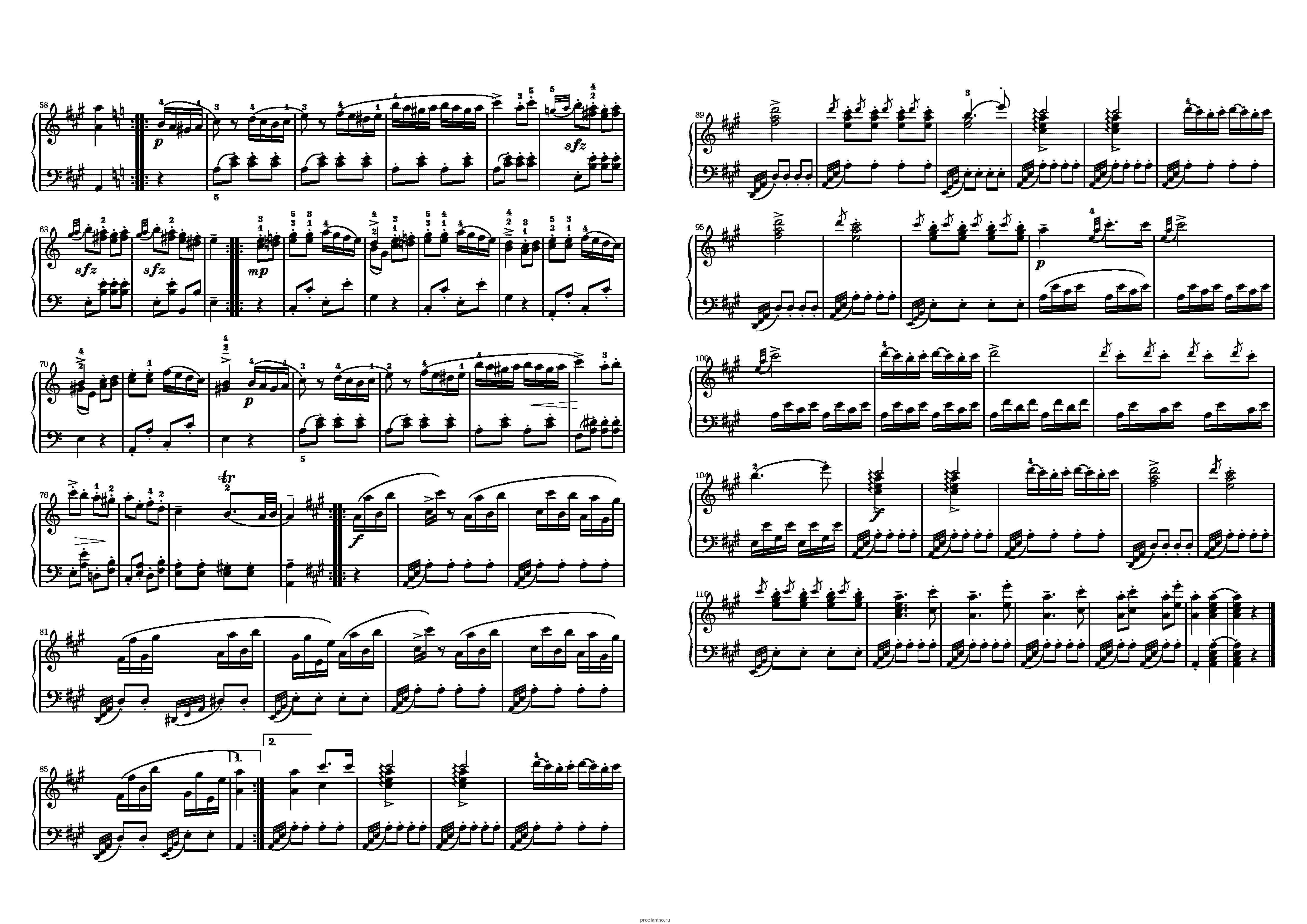 вмешательство государства ноты для фортепиано рондо в турецком стиле данном разделе