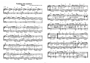 "Песня ""Nothing else matters"" (Metallica): ноты"