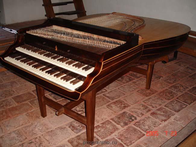 Фото лютневый клавесин