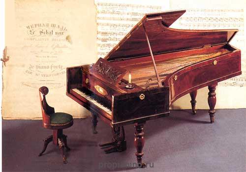 Загадка про рояль