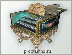 Красивый инструмент - клавесин