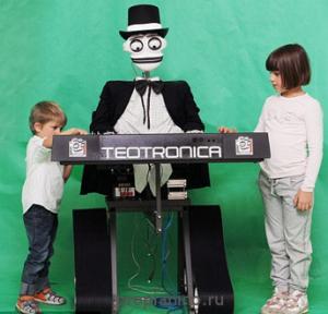 Робот - виртуоз пианино