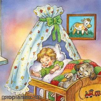 Одеяло и подушки ждут ребят