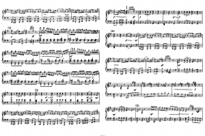 "Балет ""Щелкунчик"" П.И. Чайковского акт 1 № 2: ноты"