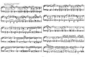 "Балет ""Щелкунчик"" П.И. Чайковского акт 1 № 5: ноты"