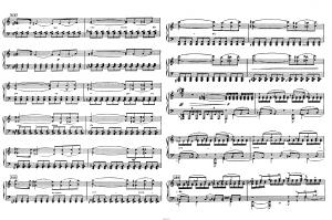 """Балет """"Щелкунчик"""" П.И. Чайковского акт 1 № 6 сцена: ноты"""