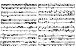 """Балет """"Щелкунчик"""" П.И. Чайковского акт 1 №7 сцена: ноты"""