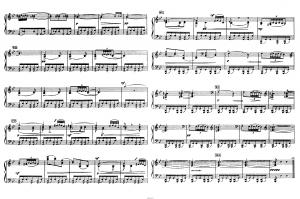"""Балет """"Щелкунчик"""" П.И. Чайковского акт 2 № 12б Дивертисмент (Кофе): ноты"""