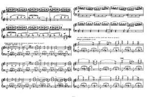 """Балет """"Щелкунчик"""" П.И. Чайковского акт 2 № 11 сцена: ноты"""