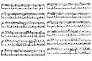 """Балет """"Щелкунчик"""" П.И. Чайковского акт 2 № 13 Вальс цветов: ноты"""