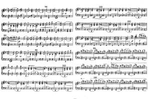 """Балет """"Щелкунчик"""" П.И. Чайковского акт 2 № 15 Vals finale et apotheose: ноты"""