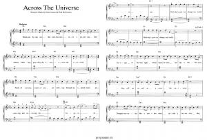 ноты The Beatles