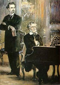 Рихард Вагнер за роялем