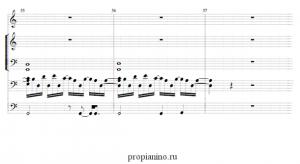ноты Evanescence