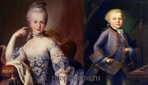 Анекдот про Моцарта и Марию Антуанетту
