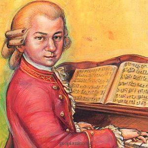 Юные гении: анекдот про Моцарта и Гёте