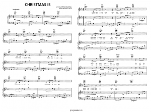 ноты новогодние песни christmas