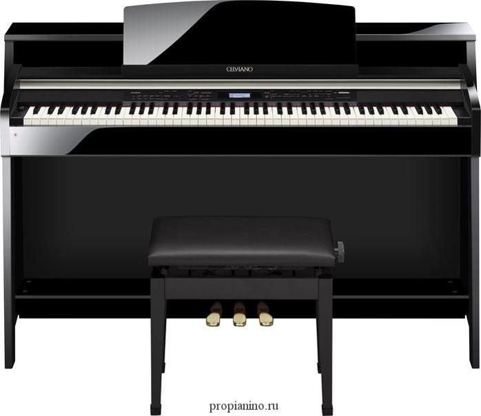 Качественное цифровое пианино Casio AP-620