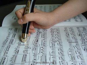Ручка пианино - Piano Learning Pen
