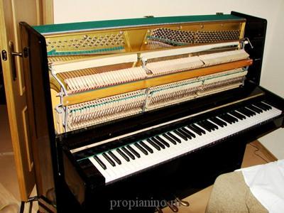 Как разобрать пианино