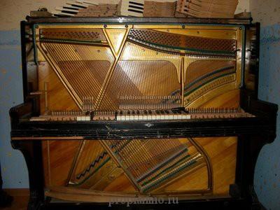Как выглядит пианино внутри