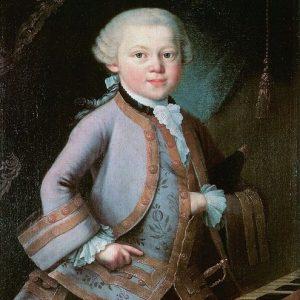 Анекдот про юного Моцарта